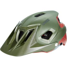 UVEX Quatro Integrale Helm green